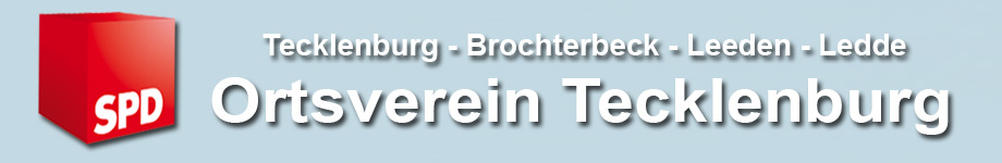 SPD Ortsverein Tecklenburg | Brochterbeck | Leeden | Ledde